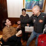 La vicepresidenta Gabriela Michetti recibió a los responsables de  Albergo Ético