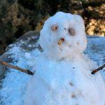 La Cumbrecita amaneció envuelta en un manto blanco de nieve